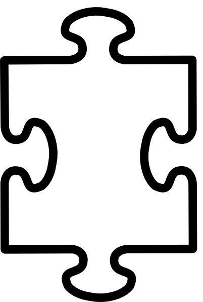 Jigsaw puzzle pieces clipart friendship clip art freeuse stock Printable Puzzle Pieces Template - Each child decorates a ... clip art freeuse stock