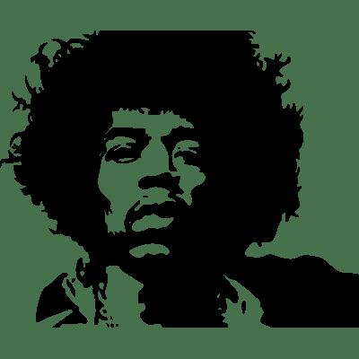 Jimi hendrix clipart image stock Jimi Hendrix Clipart transparent PNG - StickPNG image stock