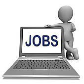 Job search clipart jpg royalty free Clip Art of Job Online Shows Web Employment Search k16180372 ... jpg royalty free