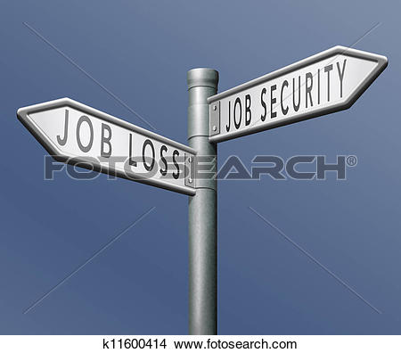 Job security clipart picture library download Stock Image of job loss k14368045 - Search Stock Photos, Mural ... picture library download