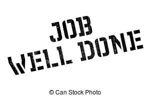 Job well done clipart free banner black and white Job well done Clip Art and Stock Illustrations. 1,266 Job ... banner black and white