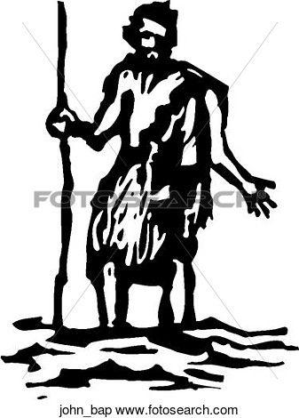John baptist clipart vector black and white John the Baptist Clipart | SOM 2016 | John the baptist, Clip ... vector black and white
