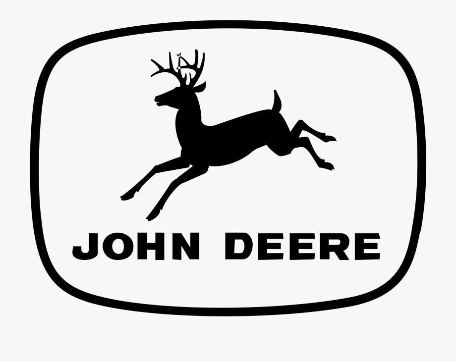 John deere logo clipart black and white vector free John Deere Logo Vector - 1956 John Deere Logo #729738 - Free ... vector free