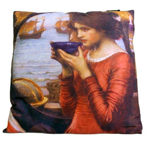 John william waterhouse clipart royalty free library Art Cushion Cover - Destiny - John William Waterhouse royalty free library