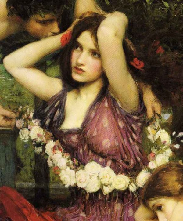 John william waterhouse clipart image freeuse download Pre Raphaelite Art: John William Waterhouse - Flora and the ... image freeuse download