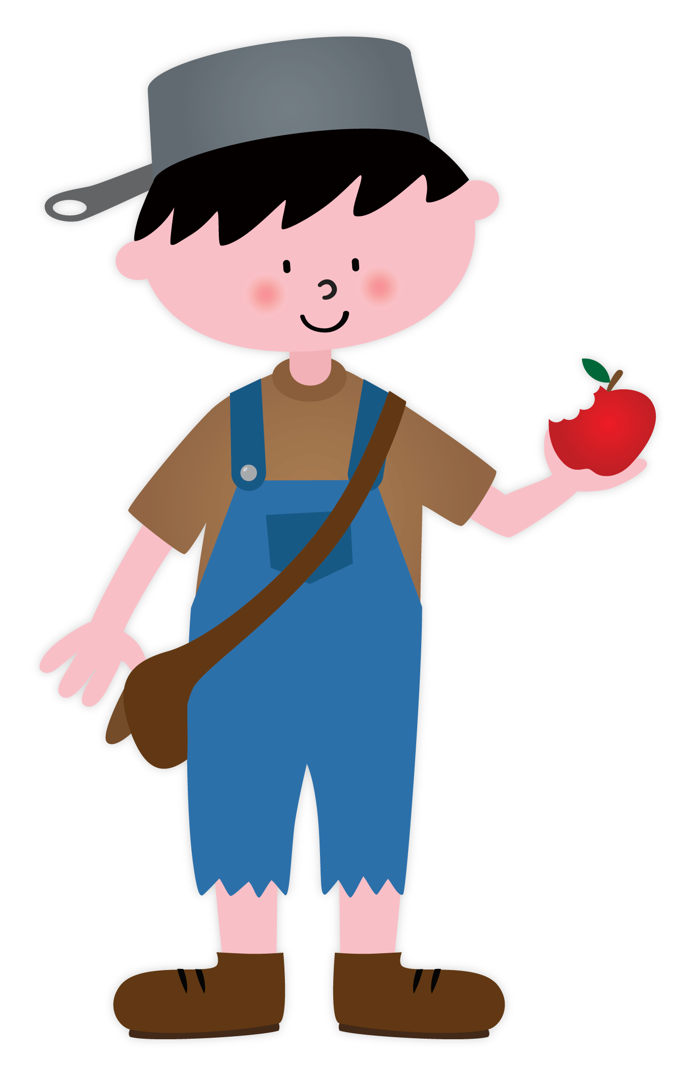 Johnny apple seed clipart clip free download Johnny Appleseed clip free download