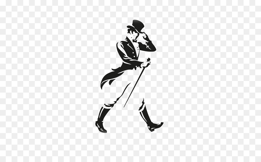 Johnny walker clipart graphic freeuse download Johnnie Walker Logo clipart - Whiskey, White, Black, transparent ... graphic freeuse download