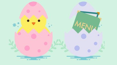 Join us for easter sunday 2018 clipart vector library library 65 Restaurants Open on Easter Sunday 2019 | Real Simple vector library library