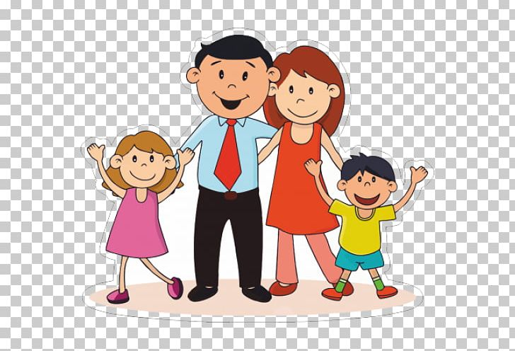 Nuclear family clipart
