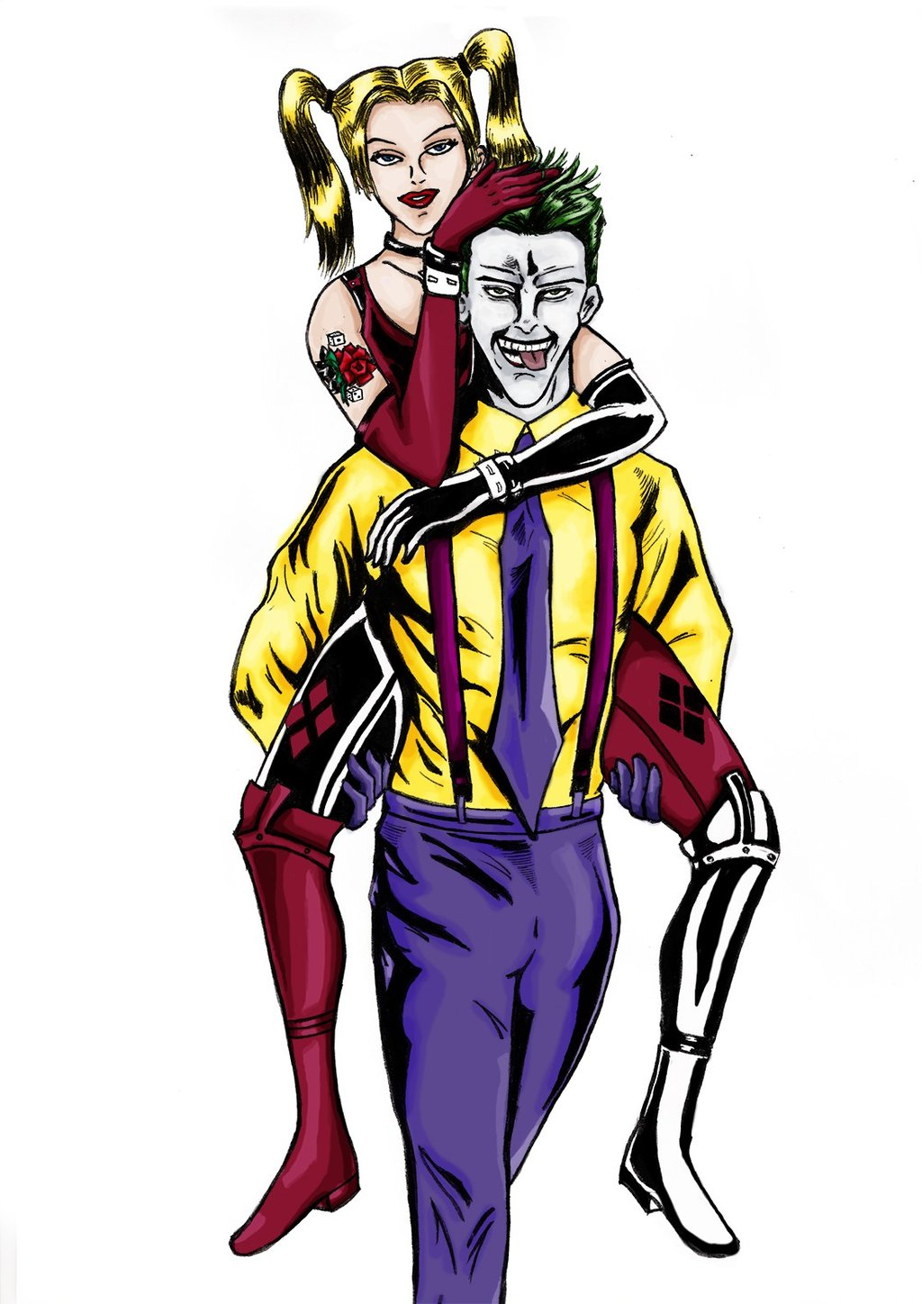 Joker and harley clipart picture royalty free library Cute joker clipart - ClipartFest picture royalty free library