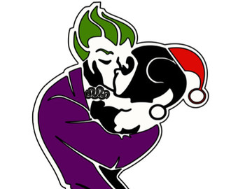 Joker and harley clipart jpg stock Joker and harley – Etsy jpg stock
