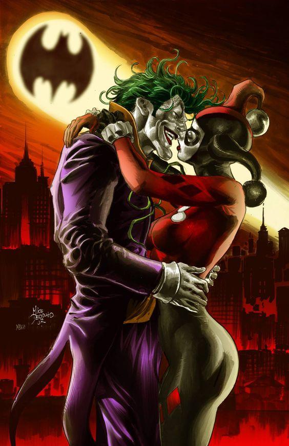 Joker and harley quinn image freeuse download 17 Best images about Harley Quinn and Joker on Pinterest | Beasts ... image freeuse download