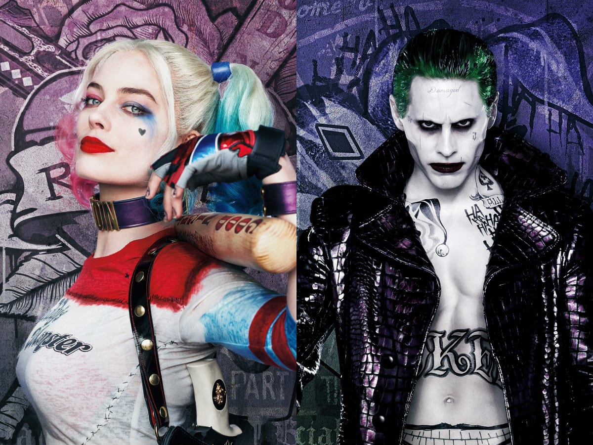 Joker and harley quinn jpg library Why The Joker And Harley Quinn Are Not Relationship Goals jpg library