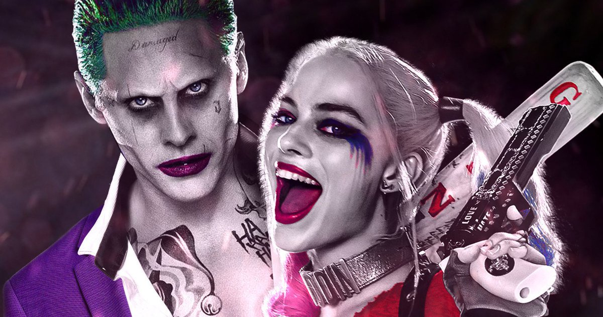 Joker and harley quinn jpg library library Suicide Squad Prequel Comic Tells Joker & Harley's Backstory jpg library library