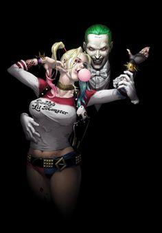 Joker and harley quinn banner stock The Maddest Love Of All: The Joker And Harley Quinn | Jared leto ... banner stock
