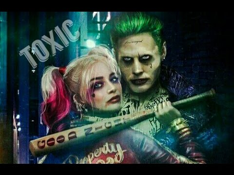 Joker and harley quinn clipart black and white library the joker & harley quinn II toxic ( suicide squad ) - YouTube clipart black and white library
