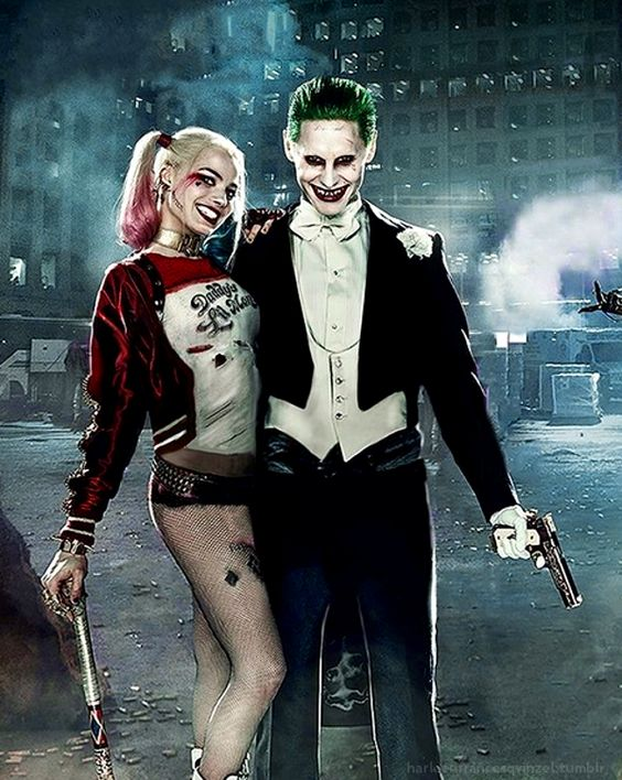Joker and harley quinn graphic free The Maddest Love Of All: The Joker And Harley Quinn | Jared leto ... graphic free