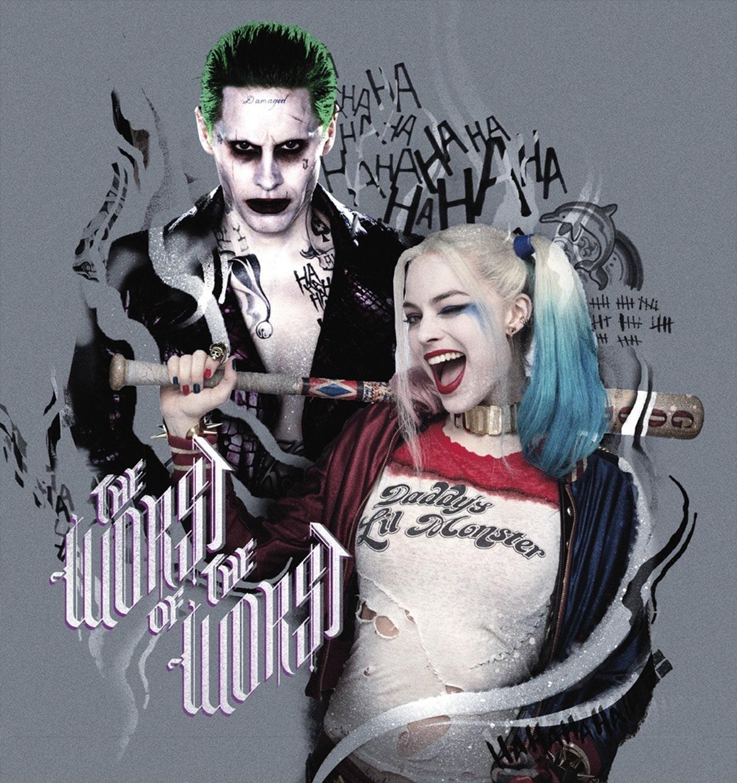 Joker and harley quinn jpg free stock Joker and harley quinn - ClipartFest jpg free stock