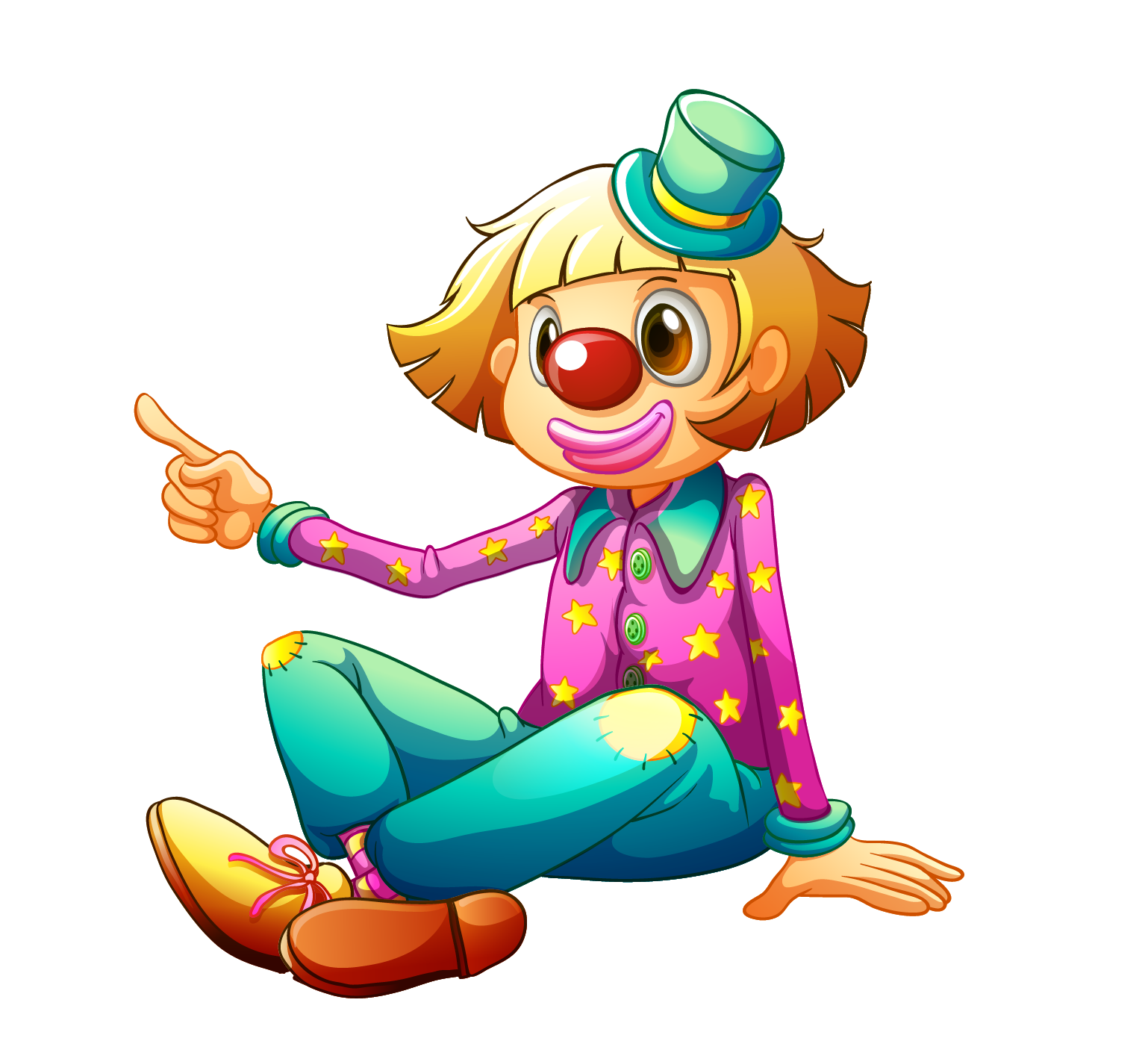 Joker clip art vector freeuse stock Joker Clown Clip art - Hip-hop cartoon clown 1538*1394 transprent ... vector freeuse stock
