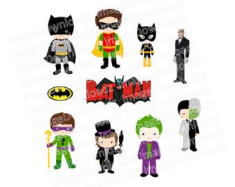 Joker clipart batman graphic transparent library Batman joker clipart – Etsy graphic transparent library
