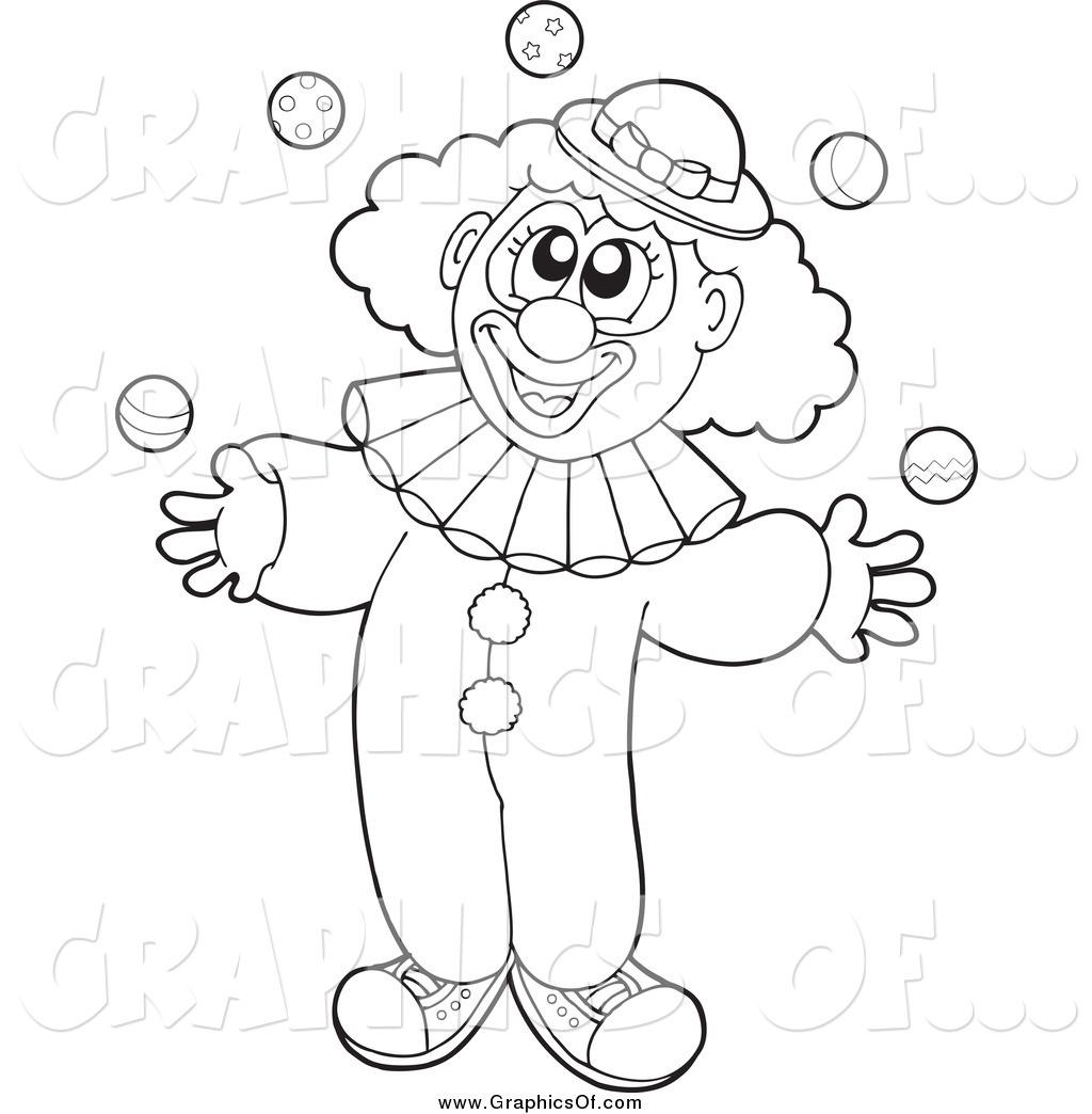 Joker clipart black and white clip art free library Circus Clown Face Clip Art Black and White – Clipart Free Download clip art free library
