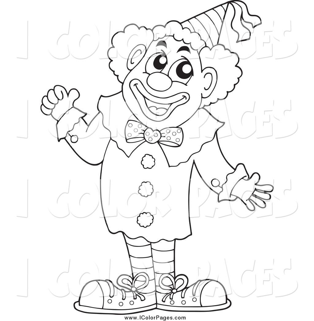Joker clipart black and white jpg free stock Clown Black And White Clipart - Clipart Kid jpg free stock