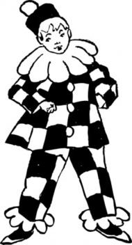 Joker clipart black and white free stock Joker clipart black and white - ClipartFest free stock