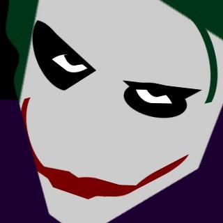 Joker clipart dark knight banner black and white Dark Knight Joker Logo - ClipArt Best banner black and white