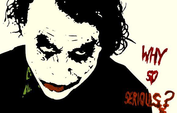 Joker clipart dark knight banner black and white stock Joker the dark knight clipart - ClipartFox banner black and white stock