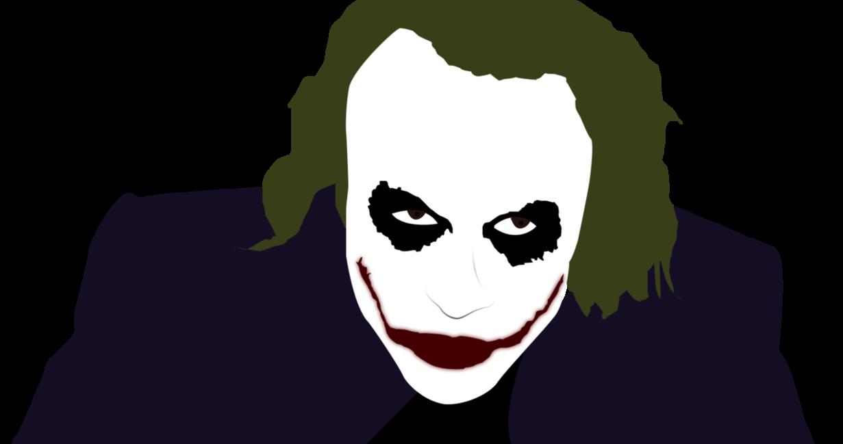 Joker clipart dark knight banner freeuse download Joker Vector Render by berooo123 on DeviantArt banner freeuse download