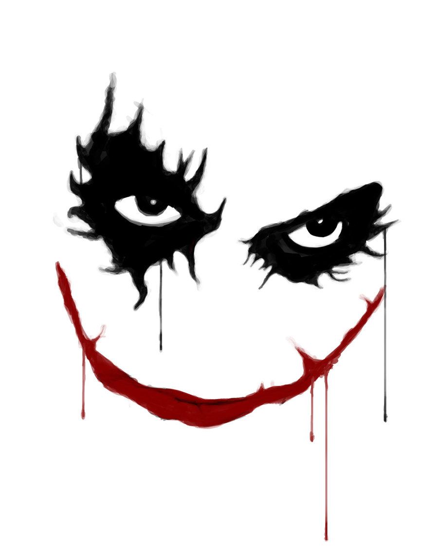 Joker clipart dark knight graphic black and white Joker Art Pictures   Free Download Clip Art   Free Clip Art   on ... graphic black and white