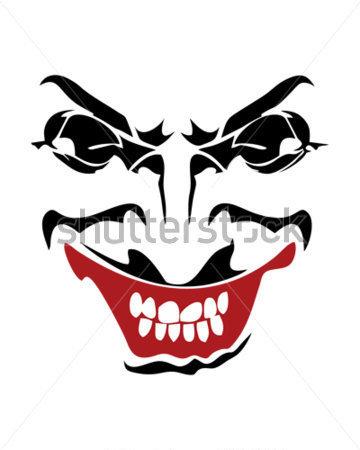 Joker mouth clipart clip free Joker smile clipart - ClipartFox clip free