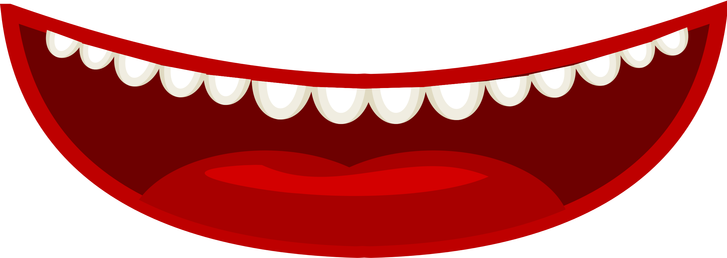 Joker mouth clipart picture free library Big Mouth Clipart - Clipart Kid picture free library