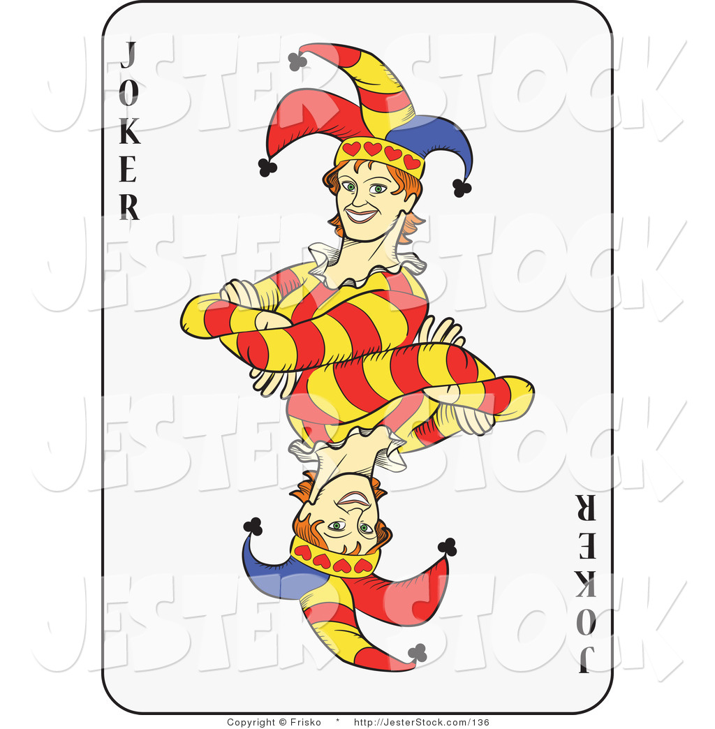 Joker playing card clipart free vector royalty free download 12 Free Playing Card Graphics Images - Poker Cards Clip Art Free ... vector royalty free download