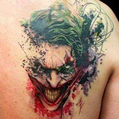 Joker tattoo vector black and white stock 17 best ideas about Batman Joker Tattoo on Pinterest | Joker ... vector black and white stock