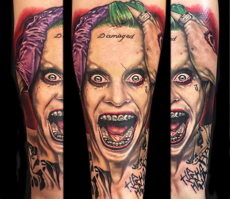 Joker tattoo clipart transparent download Joker Tattoo Motive | Page 2 clipart transparent download