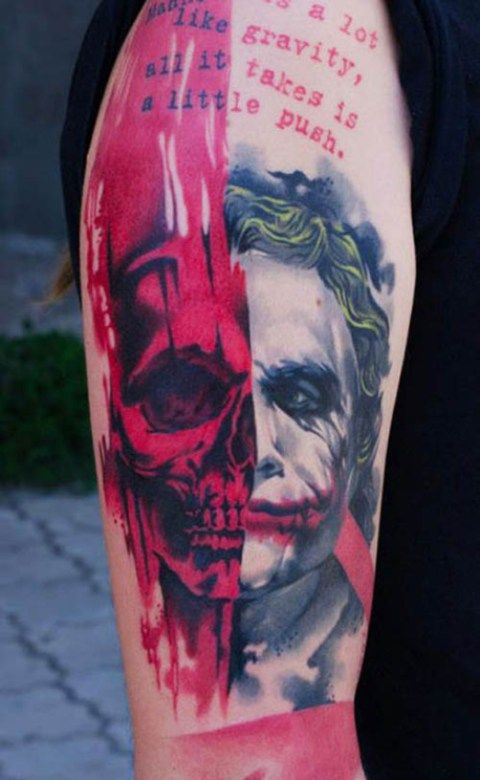 Joker tattoo library 17 Best ideas about Joker Tattoos on Pinterest | Joker tatto ... library