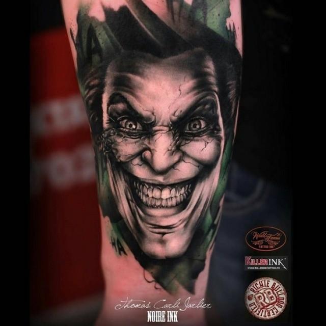 Joker tattoo clip stock Joker Tattoo on Arm | Best Tattoo Ideas Gallery clip stock