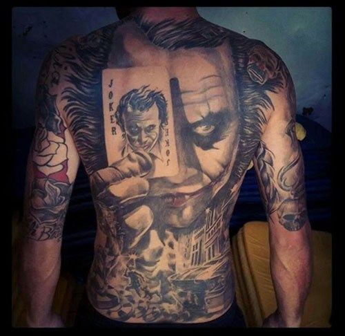 Joker tattoo jpg black and white 17 Best ideas about Joker Tattoos on Pinterest | Batman joker ... jpg black and white