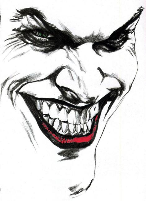 Joker tattoo banner black and white Joker Tattoo Images & Designs banner black and white