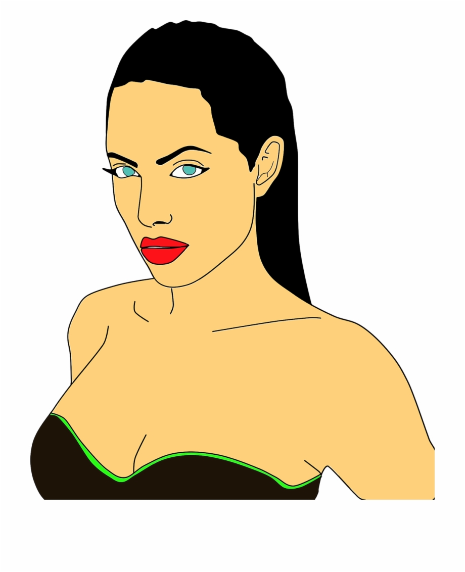 Jolie clipart picture free stock Actor Actress Angelina Jolie Png Image - Angelina Jolie Clipart Free ... picture free stock