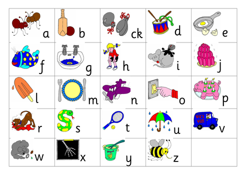 Jolly phonics clipart graphic royalty free Jolly Phonics Phase 2 sounds and actions graphic royalty free