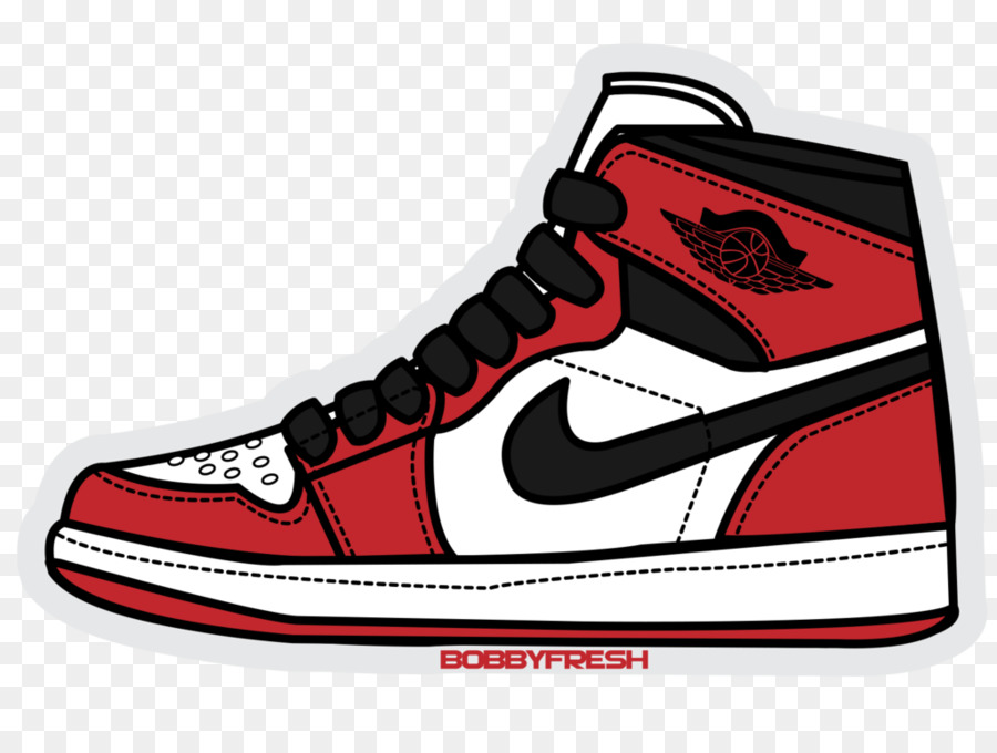 Jordan clipart banner freeuse download Nike Jordan Logo clipart - Sticker, Red, White, transparent clip art banner freeuse download