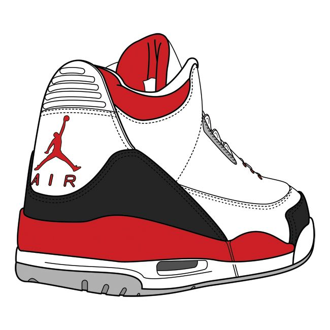 Nike air jordan clipart free S Jordan Shoes Drawings Clipart - Free Clipart | Brands in 2019 ... free