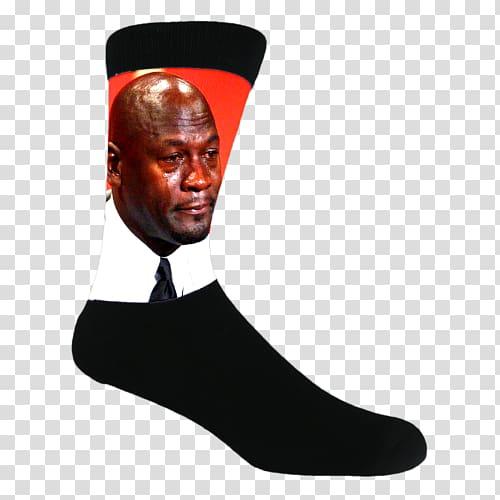 Jordan crying meme clipart clipart transparent Amazon.com Michael Jordan Sock Crying Jordan Internet meme, michael ... clipart transparent