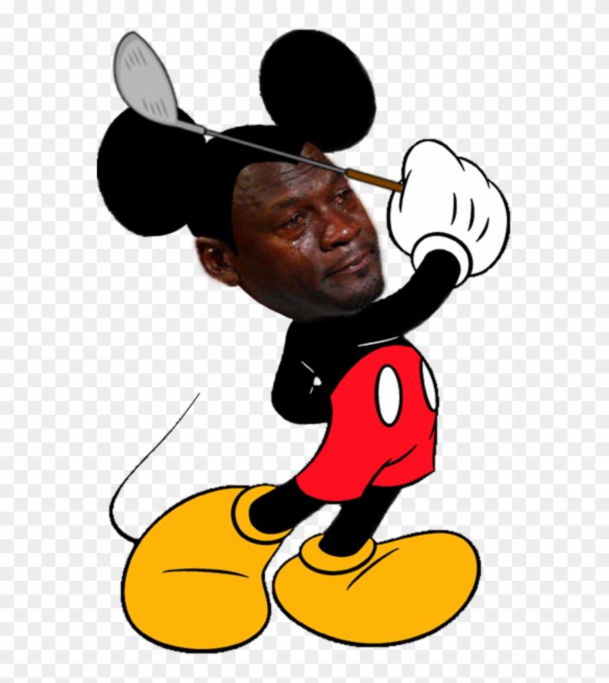 Jordan crying meme clipart graphic download Crying Jordan Face Png - Good Morning Mickey Mouse Meme Clipart ... graphic download
