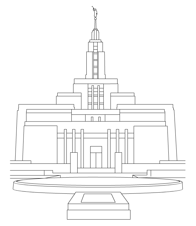Jordan river temple clipart freeuse stock Jordan river temple clipart - ClipartFest freeuse stock