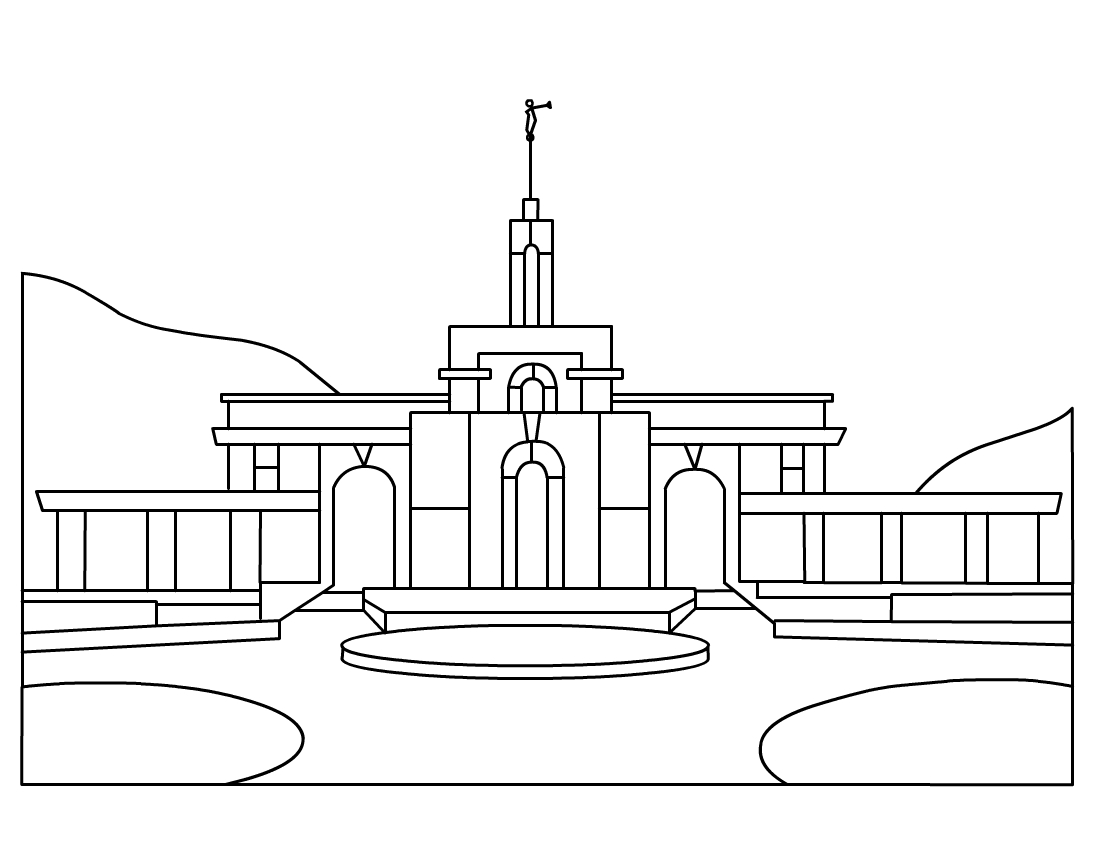 Jordan river temple clipart freeuse Jordan river temple clipart - ClipartFest freeuse