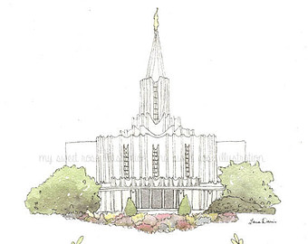 Jordan river temple clipart svg black and white stock Jordan river temple | Etsy svg black and white stock