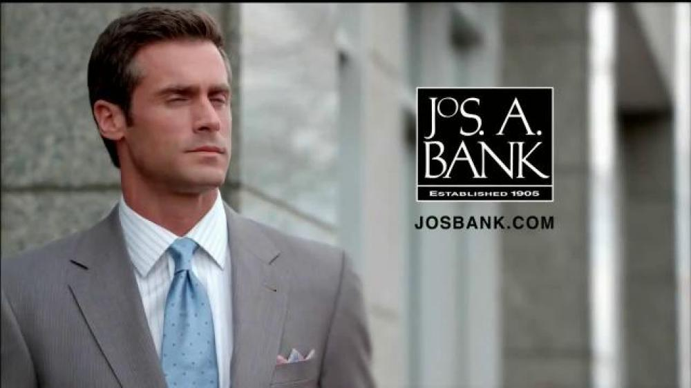 Joseph a bank image black and white library JoS. A. Bank TV Commercial, 'Signature GOLD Suits Works' - iSpot.tv image black and white library
